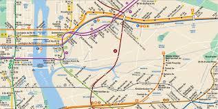 Nyc Subway Map App by Kosciusko Bridge Train Subway Map Version Copy