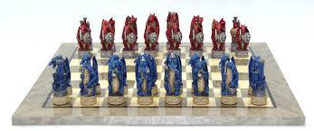 fantasy chess set fantasy themed chess sets