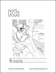 letter k coloring book free printable pages coloring books