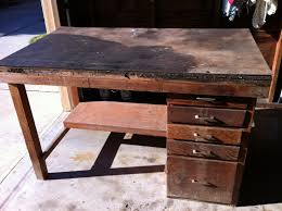 the wight family workbench into kitchen island