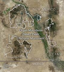 maps explain 27 national monuments under review by
