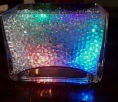 Clear Vase Gems Glassware Vase Filler Using Clear Crystal Water Beads For Cut