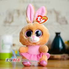 2016 ty beanie boos big eyed twinkle toes ballerina bunny cute
