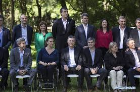The Cabinet Members Members Of Cabinet Pose At Botanical Garden In Argentina Xinhua