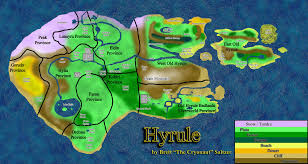 Map Of Hyrule Ultimate Hyrule Map By Bsaltzer On Deviantart