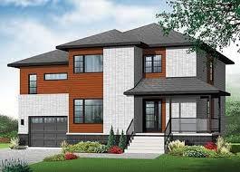 split level home 4 bed contemporary split level home plan 22361dr architectural