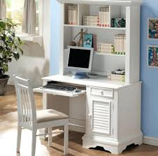 Office Depot L Desk Astonishing White Office Furniture Desk Hutch And Chair Office