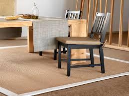 teppich sisal moderne teppich uni sisal rechteckig mediterranean