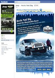 call of duty jeep green jeep arctic yeti dig ignite social media the original social