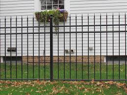 aluminum fence panels home depot home u0026 gardens geek