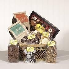 chocolate gift baskets chocolate gift basket sler asher s chocolates