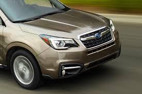 subaru cars models 2017 subaru forester refresh brings more driver assist tech