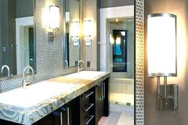 Contemporary Bathroom Vanity Lighting Bathroom Vanity Lights Modern Bullishness Info