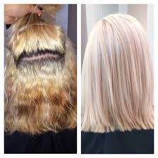 Blue Ash Color by Color Correction Platinum Blonde Achieved By Using Up To 7