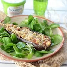 boursin cuisine recette aubergines farcies au boursin cuisine ail fines herbes