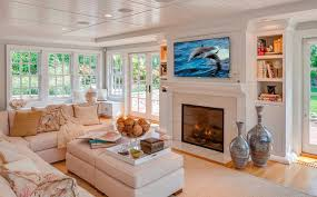 Modren Small Family Room With Fireplace Ideas Lightandwiregallery - Decorating a large family room