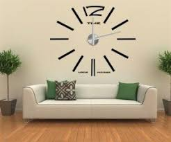 Modern Wall Clock Modern Large Wall Clocks Foter