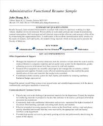 Sample Functional Resume Pdf by Concierge Resume Template 3 Free Pdf Documents Download Free