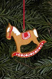 handcrafted german gifts gingerbread rocking with trim
