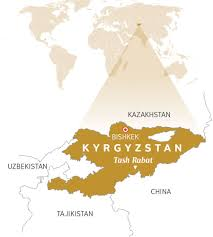 Kyrgyzstan Map Interesting Facts About Kyrgyzstan