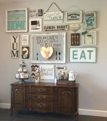 diy kitchen wall decor ideas my gallery wall in our kitchen i m colewifey on ig come follow