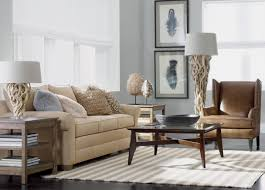 Gray Living Room Chair by Driftwood Living Room Ethan Allen
