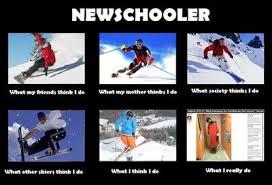 Skiing Memes - what i think im doing what my mom thinks ski gabber