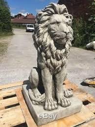lions statues for sale exrta large posing lion statue garden ornament fibreglass