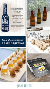 a baby is brewing baby shower theme a baby is brewing pear tree