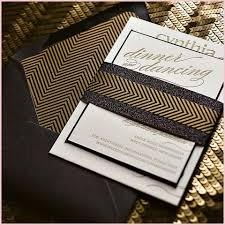 great gatsby wedding invitations the great gatsby wedding invitations enhance impression