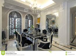 luxury home design stylish restaurant stock photo image 59354566