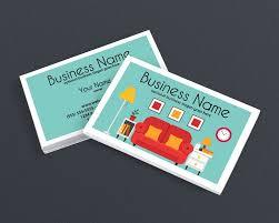 Home Interior Business Interior Decorating Business Cards