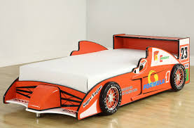 bedroom boys room design ideas with f1 car concept and massive