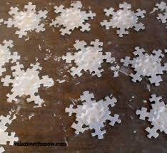 snowflake puzzle ornaments valerie write now