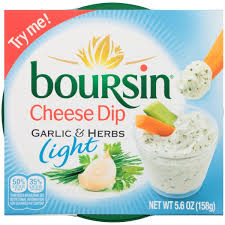 boursin cuisine light boursin light garlic herbs cheese dip 5 6 oz from fairway market