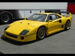 ferrari yellow car ferrari f40 lm yellow 1 18 looksmart models