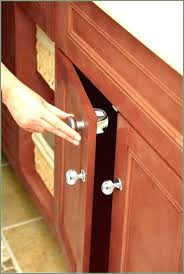 best baby cabinet locks child proof cabinets house of designs