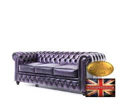 canapé chesterfield violet canapé chesterfield antique violet 3 places toulouse 31000
