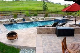 backyard pool and spa integrity pool builders