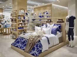 interior home store zara home store milan interior visual merchandising bed