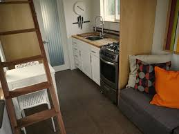 Tiny Furniture Trailer by Trailer Turned Tiny House 200 Sq Ft