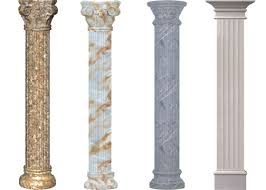 imitative classic roman column for lobby columns for interior of