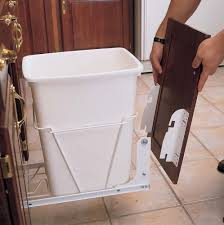 cabinet door mounted garbage can monsterlune