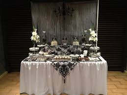 Black And White Candy Buffet Ideas by 23 Best Jo U0027s 50th Images On Pinterest Desserts Black And White