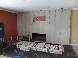 installing stone veneer panels on wall with t v youtube
