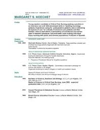 The Best Resume Examples by Resume Examples Example Of Resume By Easyjob The Best Free