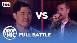 drop the mic randall park vs james van der beek full battle