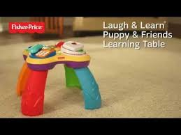 fisher price laugh learn puppy friends learning table fisher price laugh learn puppy friends learning table youtube