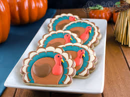 simple thanksgiving turkey cookies semi sweet designs