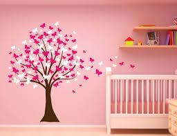 innovative stencils butterfly cherry blossom tree baby nursery